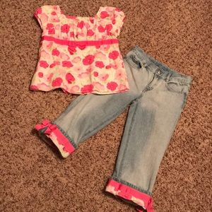 Gymboree 2 piece outfit